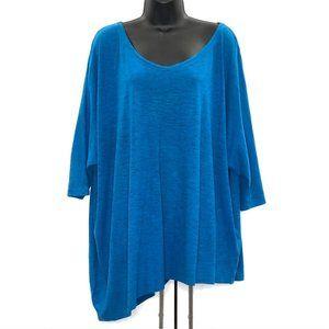 Eileen Fisher Hemp Blend V Neck Shirt